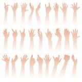 Anheben der Hände Lizenzfreie Stockfotografie