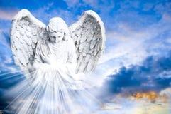 Anjo que traz a luz Imagens de Stock