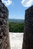 Ansicht von den Ruinen Lizenzfreie Stockfotos