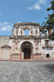 Antigua, Guatemala: Church of Society of Jesus (1626), damaged by an earthquake in 1773 Royalty Free Stock Photos