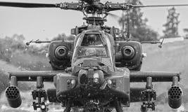Apachehelikopter Stock Afbeeldingen