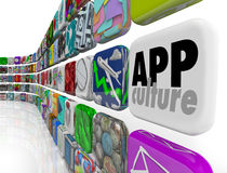 App Culture Download Program Application Software Society Royalty Free Stock Photo