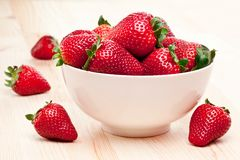Appetizing strawberry. Stock Photos