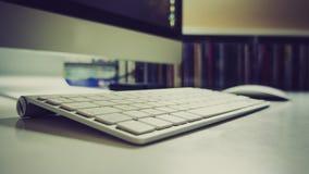 Apple Bluetooth Keyboard Stock Image