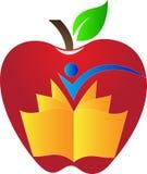 Apple book Royalty Free Stock Photo