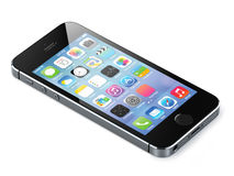 Apple-iphone 5s Royalty-vrije Stock Foto's