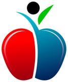 Apple man Royalty Free Stock Photography
