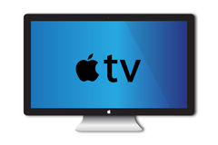 Apple TV Concept Royalty Free Stock Image
