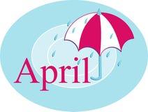 april Royaltyfri Fotografi