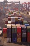 Aquaba busy container port Stock Photography