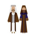 Arabic national dress Stock Photo