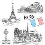 Architecture Paris Royalty Free Stock Photos