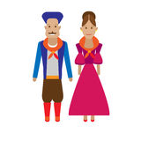 Argentina national dress Royalty Free Stock Images