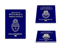 Argentinian Passport Royalty Free Stock Image