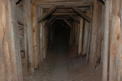 Arizona ghost town mine entrance Royalty Free Stock Image