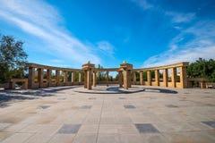 Arquitectura al aire libre en parque de la ciudad Imágenes de archivo libres de regalías