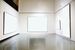 Art gallery exhibition hall Stock Photo