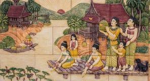Art of Thai culture Royalty Free Stock Photos