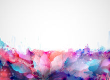 Artistic blots Stock Image