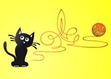 Artistic cat Royalty Free Stock Photo