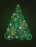 Artistic Christmas tree Royalty Free Stock Photo