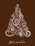Artistic Christmas tree Royalty Free Stock Photos