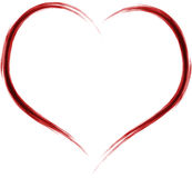 Artistic heart Royalty Free Stock Image