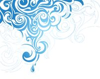 Artistic splash Royalty Free Stock Images