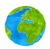 Artistic vector illustration of Earth globe Stock Photos