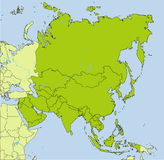 Asian countries Stock Photo