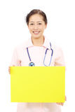 Asian female nurse Stock Image