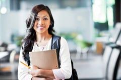 Asiatischer Student Lizenzfreies Stockbild
