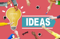 Aspirations Ideas Thinking Innovation Vision Strategy Concept Royalty Free Stock Images