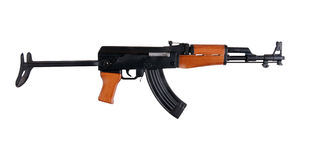 Assault rifle. Royalty Free Stock Photo