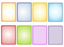 Assorted Spring Textured Paper Backgrounds Royalty Free Stock Photo
