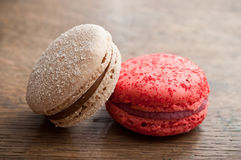 Assortment of french macarons Royalty Free Stock Images