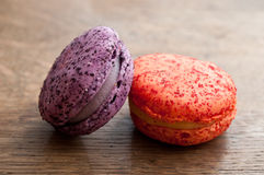 Assortment of french macarons Royalty Free Stock Photo