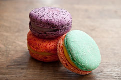 Assortment of french macarons Royalty Free Stock Photography