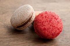 Assortment of french macarons Stock Photography