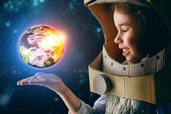 Astronaut Stock Afbeelding