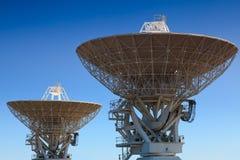 Astronomy 2 antenna Royalty Free Stock Photo
