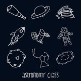 Astronomy class Royalty Free Stock Images