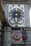 Astronomy clock Royalty Free Stock Photography