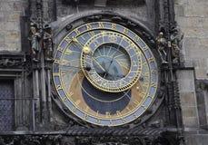 Astronomy Clock from Prague in Czech Republic Stock Image