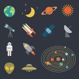 Astronomy icon Royalty Free Stock Image