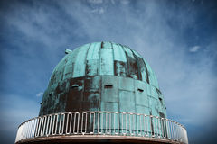 Astronomy observatory science dome Royalty Free Stock Photos