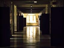 Asylhall Fotografering för Bildbyråer