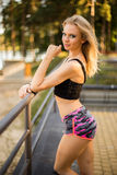 Athletic girl Royalty Free Stock Images