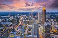Atlanta Skyine Zdjęcia Royalty Free