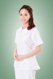 Attractive Asian nurse Stock Photos